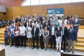 XIII Premios al Emprendedor Universitario en el paraninfo de la Universidad---Foto Roberto Ruiz 15-7-2015