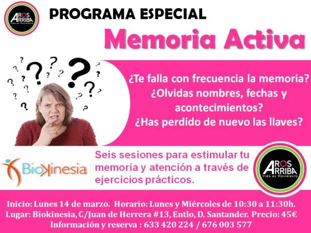 PROGRAMA DE MEMORIA ACTIVA -  Biok foto